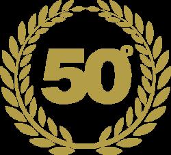 coccarda 50esimo